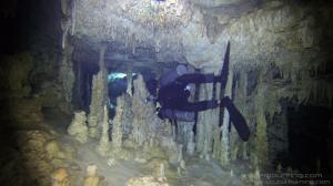 Cave divers find sidemount configuration makes penetrating caves easier